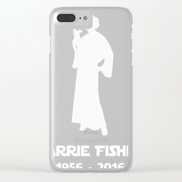 Carrie Fisher 1956 - 2016 shirt Clear iPhone Case