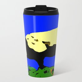 Bookends - Two Sheep - Cuckmere Haven, Sussex, UK Metal Travel Mug
