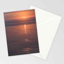 Sunset Sings Quietly Stationery Cards