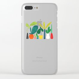 Greens Clear iPhone Case