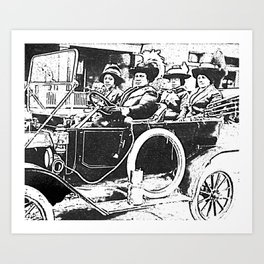 Black Wealth - Madam C.J. Walker Black History Month Art Sarah Breedlove 2k Art Print