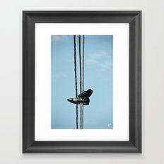 Birmingham Street Framed Art Print