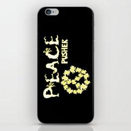 Peace Pusher iPhone Skin