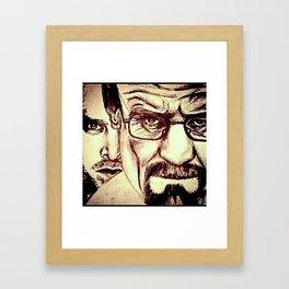 """""""Fragmented misery"""" Framed Art Print"""