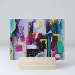 Juxtaposed Mini Art Print
