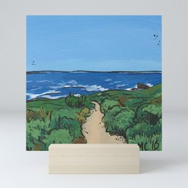 Path to the Pacific Mini Art Print