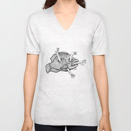 Reaching Out Unisex V-Neck