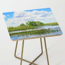 Everglades Reflections Side Table