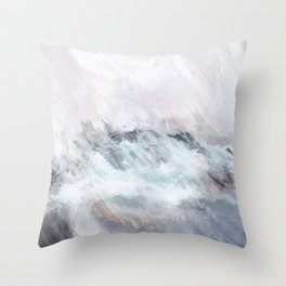 Northern Sunsets Throw Pillow