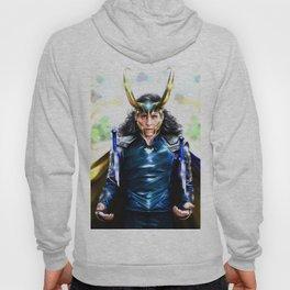 Loki - Ragnarok IV Blue Hoody