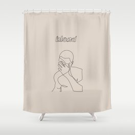 Frank | Blond Shower Curtain