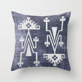 Chilean Tribal Throw Pillow
