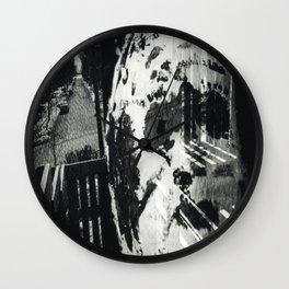 Untitled 'Mask' Wall Clock