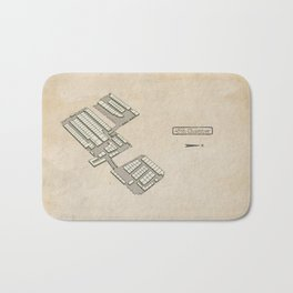 Treasure Map - 45th Chamber Bath Mat