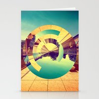 office Stationery Cards featuring L'Infinito by Victor Vercesi