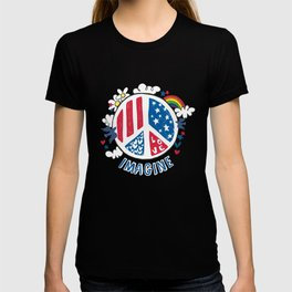 Imagine Love Imagine Peace T-shirt