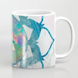 Psychedelic Crystal Lotus 2 Coffee Mug