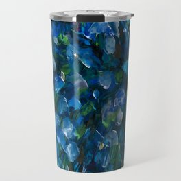 Bouquet Of Forget Me Nots by Lena Owens Travel Mug