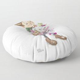Fancy Kitten Floor Pillow