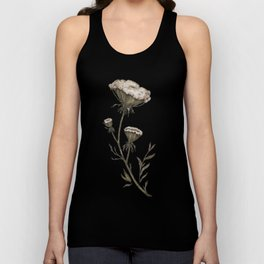 Queen Anne's Lace Unisex Tank Top