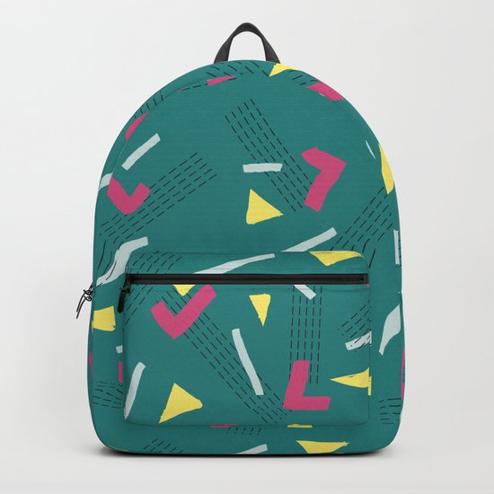 Funny Scribbles #society6 #decor #buyart Backpack
