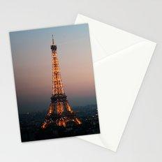 Paris Soft Sunset Stationery Cards