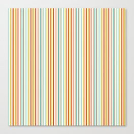 Striped Up Canvas Print