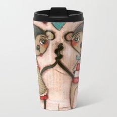 Monkey Love Metal Travel Mug