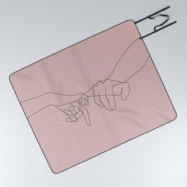 Blush Pinky Picnic Blanket