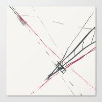 bridge Canvas Prints featuring BRIDGE by  ECOLARTE