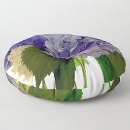 Hydrangea Bouquet Floor Pillow