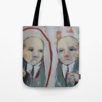 mirror Tote Bags featuring Mirror by Gigi Lee