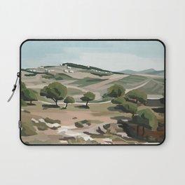 Shepherd's Fields, Bethlehem Laptop Sleeve