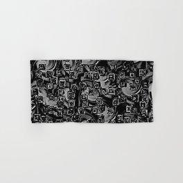 Pixelated Boxes Hand & Bath Towel