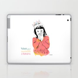 The Invisible Crown Laptop & iPad Skin