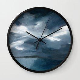 Lake Taupo, New Zealand Wall Clock