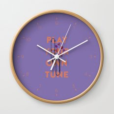 Play you own tune Wall Clock