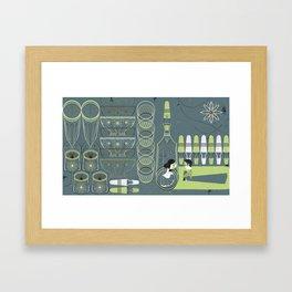 Xmas Night Framed Art Print
