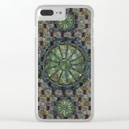 Look Up, Or Don't - The Cleveland Trust Rotunda Clear iPhone Case