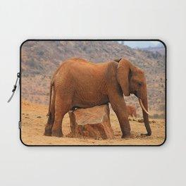 Elephants Laptop Sleeve