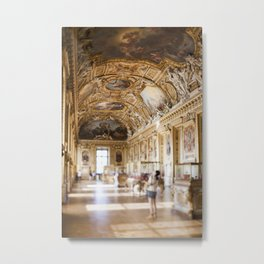 The Louvre I  -  travel photography Metal Print
