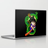 goku Laptop & iPad Skins featuring Little Goku by feimyconcepts05