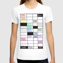 Rainah Jamean Crossword Puzzle T-shirt