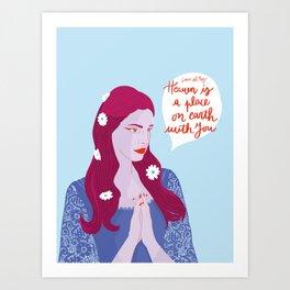 Lana delRey Art Print