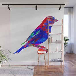 Jeweled Finch Wall Mural