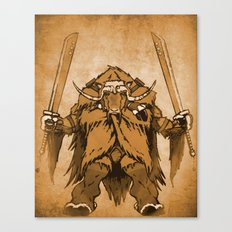 The Ox Canvas Print