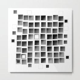 Pixel  Fashion 03 Metal Print