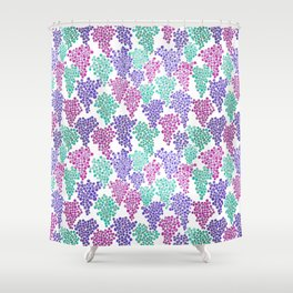 Fruit of the Day: Grape Shower Curtain