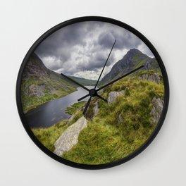Tryfan and Lake Ogwen Wall Clock