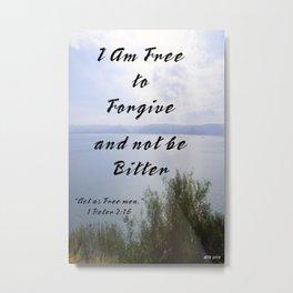 Forgive Others Metal Print